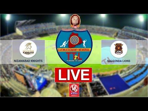 Nalgonda Lions vs Nizamabad Knights LIVE Cricket Match