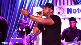 Torae - Entitled (ft. Xavier Bost) (Live)