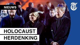 Koningspaar aanwezig bij herdenking Auschwitz