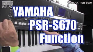 Yamaha PSR-S670 6-8 Slow Rock with new S2K Live Drums Expansion Pack