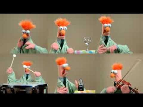 The Muppets. Beaker.