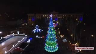 Видео Новости-N: Главная площадь Николаева с высоты птичьего полёта