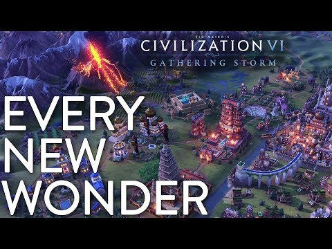 Every New Wonder in Civilization VI: Gathering Storm thumbnail
