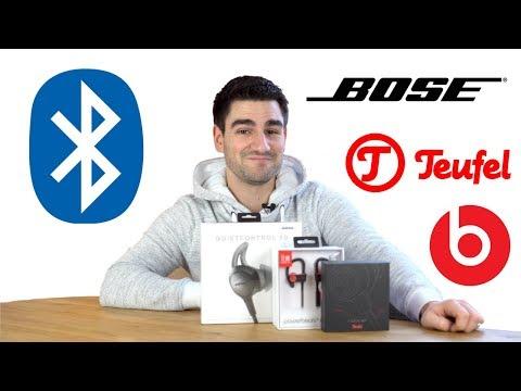 """Bluetooth In-Ears im """"sportlichen"""" Vergleich - Bose vs. Teufel vs. Beats!"""