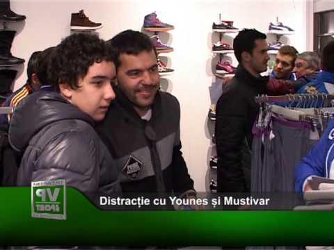 Distracție cu Younes și Mustivar
