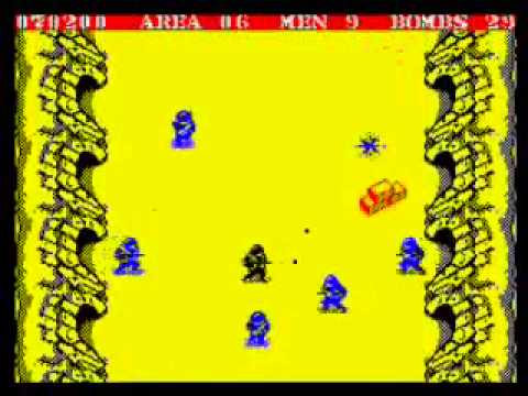 Commando Walkthrough, ZX Spectrum