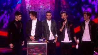 One Direction Wins The Global Success Award | BRITs 2013