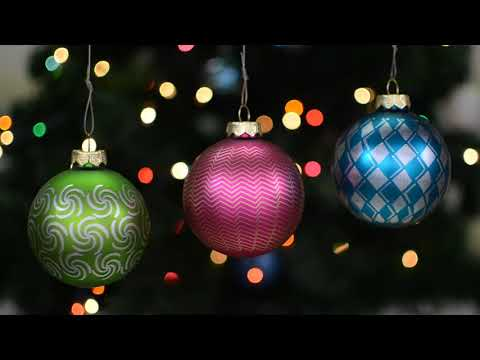 Animating Christmas Tree Ornaments with Stroboscopic Patterns
