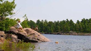 Czas lunchu w Wilderness z moją żoną | Ryby, hodować i spożywać  dzikie posiłki