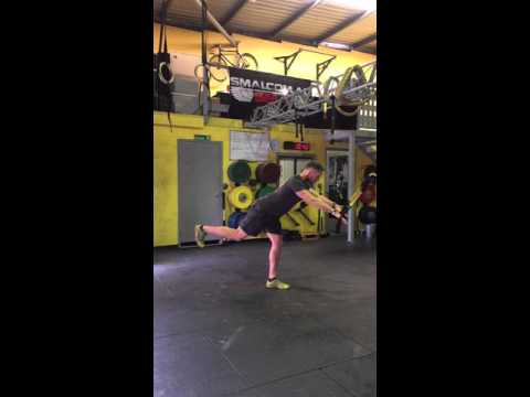 TRX Single Leg Dead Lift