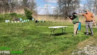 Action Pistol Match at Sandoval Range, Illinois - Shooter 8