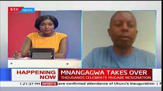 Mnangagwa takes office:Member of opposition reacts to Mnangagwa's inauguration