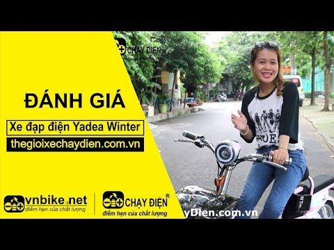 Đánh giá xe đạp điện Yadea Winter