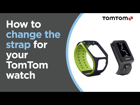 Changing straps for your TomTom watch