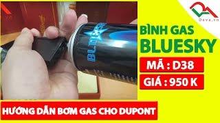 Hướng dẫn bơm ga, thay đá bật lửa S.T. Dupont | Deva.vn