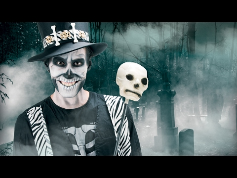 Tutorial de maquilhagem esqueleto para Halloween