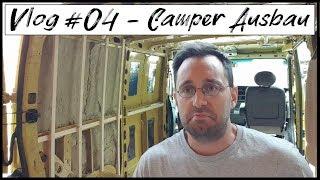Wasserschaden Am Bus   Soll Ich Den Ausbau Abbrechen? | Vlog #04   Camper Ausbau