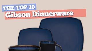 Gibson Dinnerware Sets // The Top 10 Best Sellers 2017