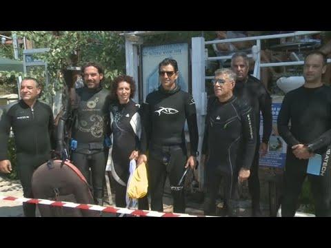 Εγκαινιάστηκε το πρώτο υποβρύχιο μουσείο της Ελλάδας στην Αλόννησο
