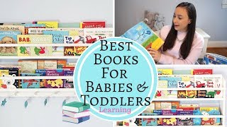 BEST BOOKS For Babies & Toddlers - Learning Language And Speech Development!