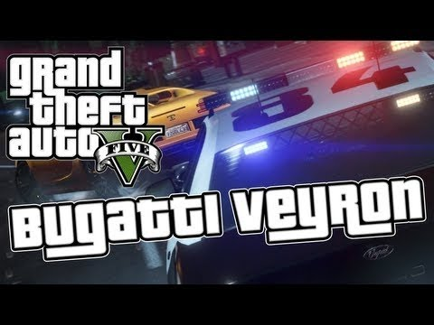 GTA 5 FASTEST CAR LOCATION BUGATTI VEYRON (GTA V HOW TO FIND BUGATTI VEYRON )