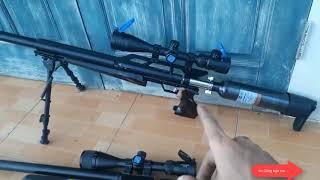 Tổng hợp súng hơi pcp, nhận rap giá rẻ luôn tha hồ mà chọn, condor van U, fx báng gập