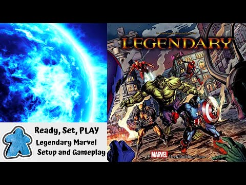 Ready, Set, PLAY - Marvel Legendary Setup and Gameplay