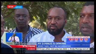 Mombasa Governor Ali Hassan Joho says he is proud of his form four grade
