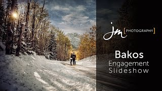 The Bakos Mountain Engagement Session At Barrier Lake In Kananaskis By JM Photography