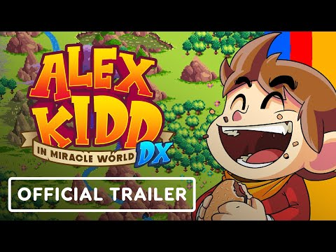 Alex Kidd in Miracle World DX : World Premiere gameplay