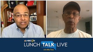 Dave Bing explains how athletes have major opportunity to speak out | Lunch Talk Live | NBC Sports