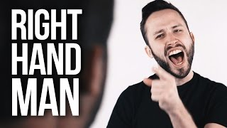 HAMILTON - Right Hand Man (Rock version) cover by Jonathan Young, Caleb Hyles & The Completionist
