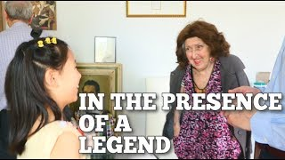 IN THE PRESENCE OF A LEGEND - The Violin Girl | Vlog 63