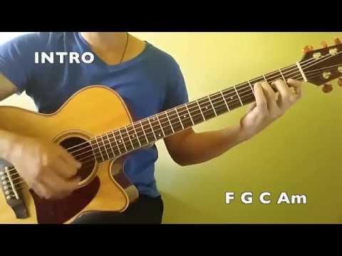 Rude - Magic! - Easy Chords Guitar Tutorial (No Capo)