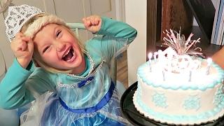 FROZEN BIRTHDAY PARTY | ELSA & ANNA | FROZEN MOVIE PARTY