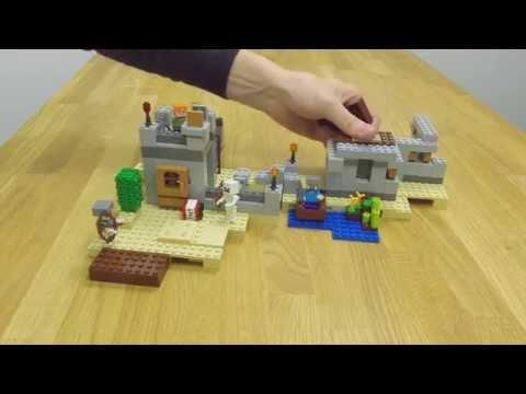 LEGO® Minecraft™ Пустынная застава 21121