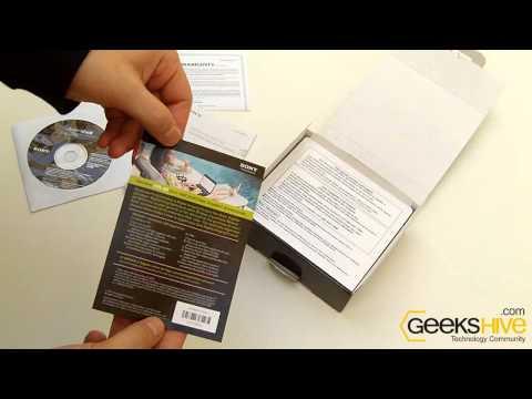 Sony Cyber-shot DSC-W510 - Unboxing by www.geekshive.com