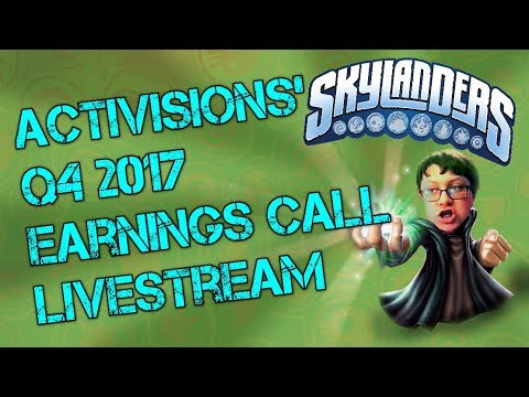 Activision Earnings Call Live Stream