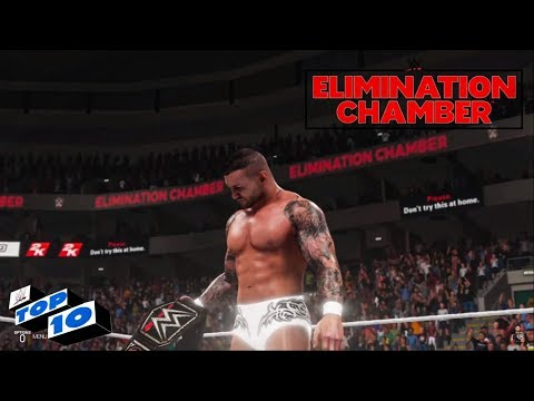 WWE 2K19 Elimination Chamber 2019 Top 10 Predictions!