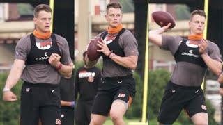 Joe Burrow WORKING At Cincinnati Bengals Training Camp