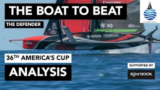 America's Cup Defender Analysis
