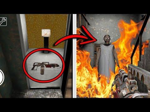 SECRET FLAMETHROWER WEAPON in Granny Horror Game! (New Secret Weapon) (видео)