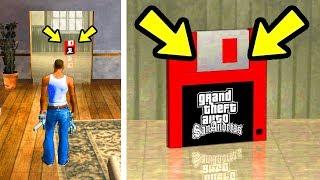 Что будет, если встать на красную сохранялку в GTA San Andreas?
