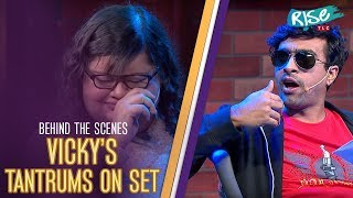 Vicky's Tantrums as a Director - Behind the Scenes | Varun Thakur | Queens vs Kings | Rise by TLC
