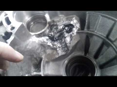 Ремонт и сборка МКПП6 GQN VW TOURAN описание поломки 1 часть