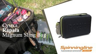 Rapala сумка sling bag pro