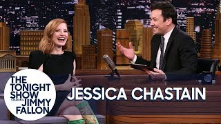 Jessica Chastain Takes an X-Men BuzzFeed Quiz to See if She Gets Wolverine thumbnail
