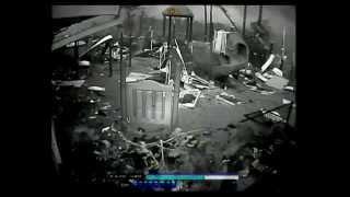 Security Camera Footage of Tupelo, Mississippi Tornado 2014 St. Luke UMC