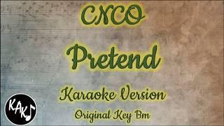 CNCO   Pretend Karaoke Instrumental Lyrics Cover Original Key Bm