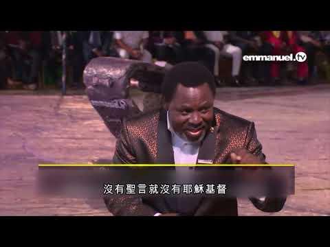 中文TB约书亚牧师-基督和衪的道是一體的   (TB Joshua in Chinese)